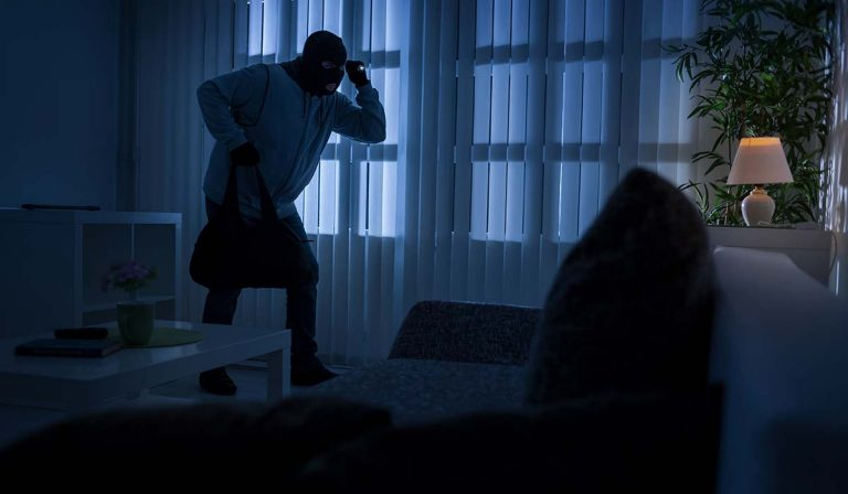I was a victim of a burglary. What should I do to find out who robbed my house?