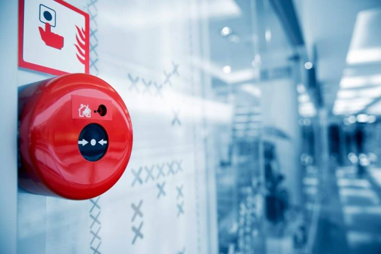 How does a fire alarm system work?
