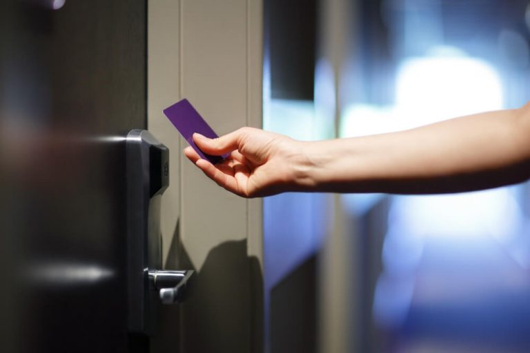 How to open a door with a card if you're locked out?